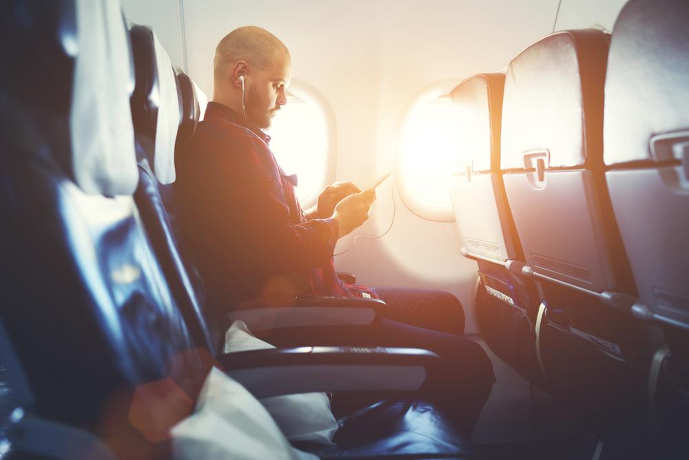 飛行機に乗りながら情報資産家になる